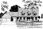 Luxury House Plan Front of Home - 072D-0893 | House Plans and More