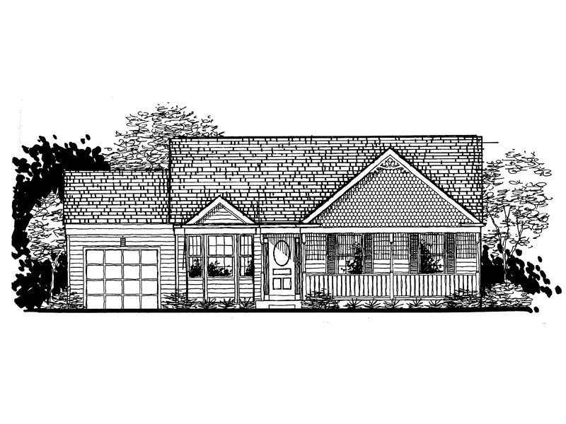 Shingle House Plan Front of Home - 072D-0938 | House Plans and More