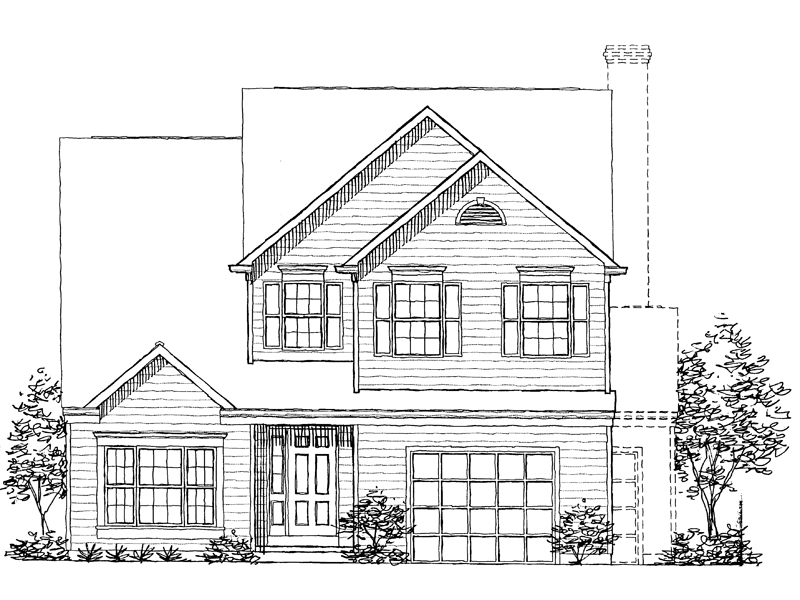 Southern House Plan Front of Home - 072D-0944 | House Plans and More