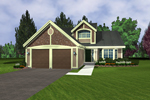 Southern House Plan Front of Home - 072D-0946 | House Plans and More