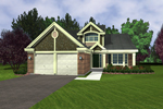 Craftsman House Plan Front of Home - 072D-0948 | House Plans and More
