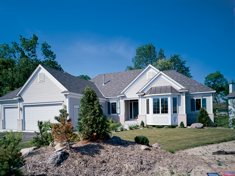 Southern House Plan Front of Home 072D-0989