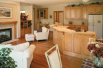 Traditional House Plan Kitchen Photo 01 - 072D-0989 | House Plans and More