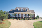 Southern Plantation Plan Front of Home - 072D-0994 | House Plans and More