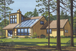 Southern House Plan Front of Home - 072D-1047 | House Plans and More