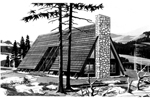 A-Frame With Side Entry