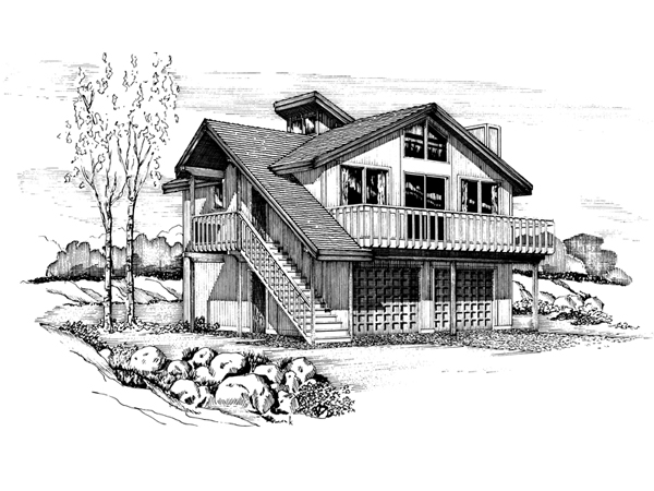 Mullanphy Rustic Vacation Home Plan 072d 1099 House