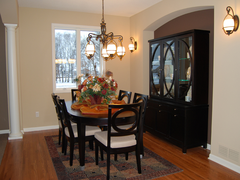 European House Plan Dining Room Photo 02 072D-1109