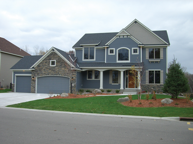 European House Plan Front of Home 072D-1109