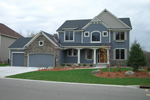 Craftsman House Plan Front of Home - 072D-1109 | House Plans and More