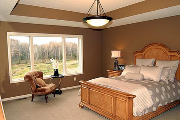 European House Plan Master Bedroom Photo 01 072D-1109