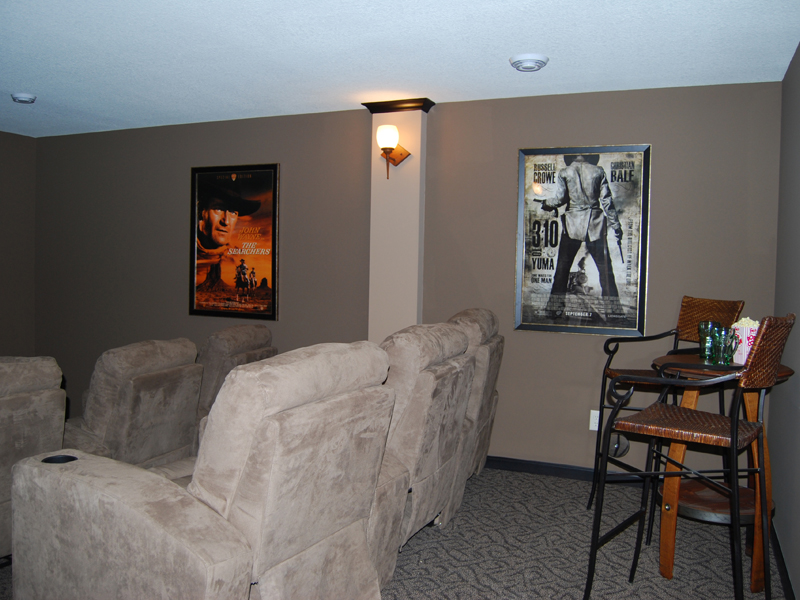 Ranch House Plan Theater Room Photo 01 072D-1110