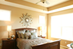 Ranch House Plan Bedroom Photo 01 - 072D-1111 | House Plans and More