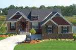 Craftsman House Plan Front Photo 02 - 072D-1111 | House Plans and More
