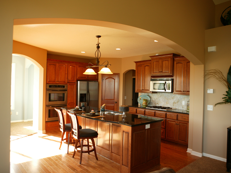 Ranch House Plan Kitchen Photo 03 072D-1111