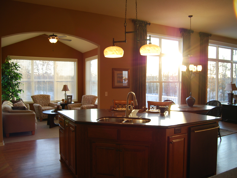 Cabin and Cottage Plan Kitchen Photo 01 072D-1112