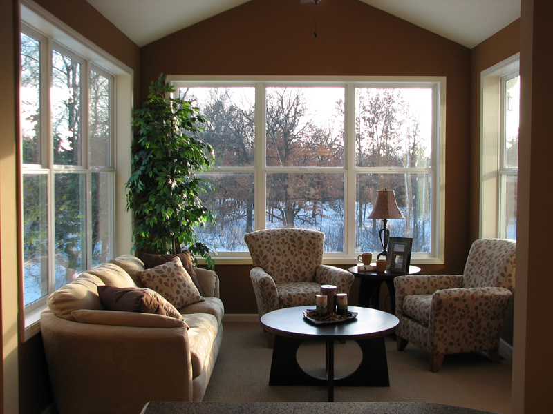 Cabin and Cottage Plan Living Room Photo 01 072D-1112