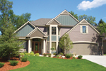 Craftsman House Plan Front of Home - 072D-1115 | House Plans and More