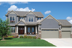 Traditional House Plan Front of Home - 072D-1122 | House Plans and More