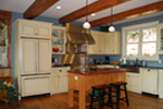 Early American House Plan Kitchen Photo - 072D-1127 | House Plans and More