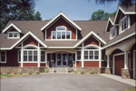Craftsman House Plan Front Photo 01 - 072S-0001 | House Plans and More
