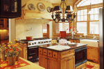 Luxury House Plan Kitchen Photo 01 - 072S-0001 | House Plans and More
