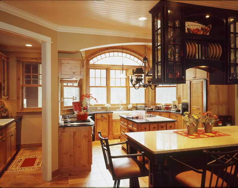 Arts & Crafts House Plan Kitchen Photo 02 072S-0001