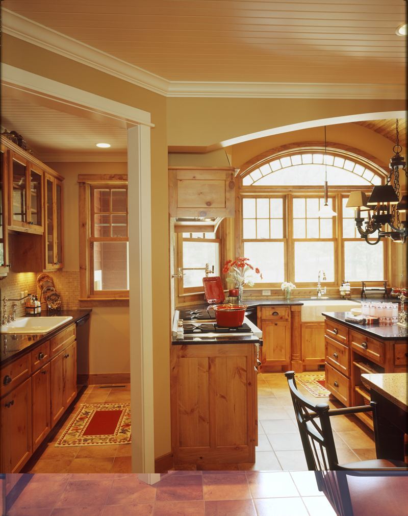 Arts and Crafts House Plan Kitchen Photo 03 072S-0001