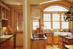 English Tudor House Plan Kitchen Photo 03 - 072S-0001 | House Plans and More