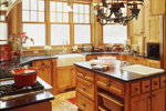Luxury House Plan Kitchen Photo 04 - 072S-0001 | House Plans and More