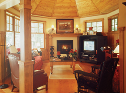 cozy hearth room