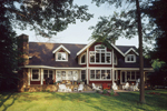 Traditional House Plan Rear Photo 01 - 072S-0001 | House Plans and More