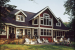 Craftsman House Plan Rear Photo 02 - 072S-0001 | House Plans and More