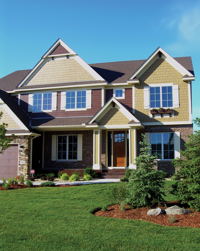 European House Plan Front Photo 01 072S-0002