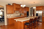 Craftsman House Plan Kitchen Photo 02 - 072S-0002 | House Plans and More