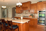 European House Plan Kitchen Photo 03 - 072S-0002 | House Plans and More