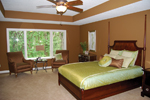 European House Plan Master Bedroom Photo 01 - 072S-0002 | House Plans and More