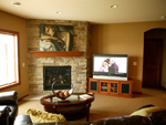European House Plan Family Room Photo 01 - 072S-0003 | House Plans and More