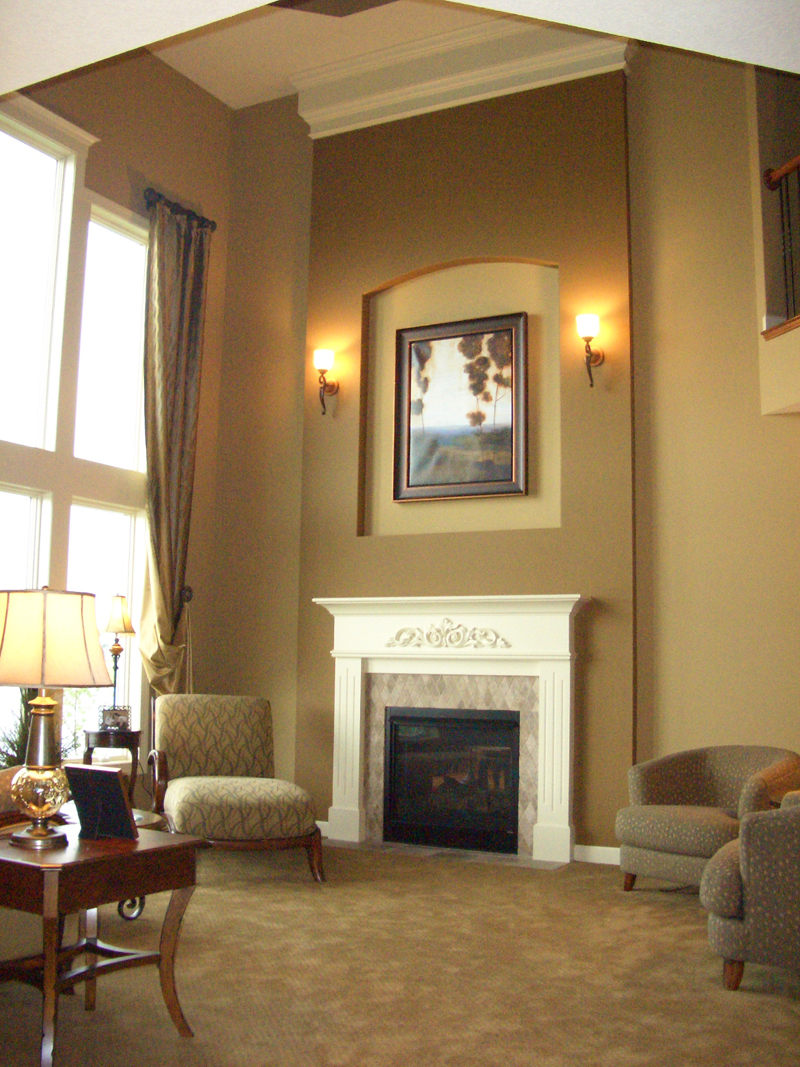 Traditional House Plan Fireplace Photo 01 072S-0003