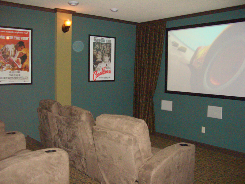 Arts and Crafts House Plan Theater Room Photo 01 072S-0003