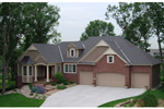 Traditional House Plan Front of Home - 072S-0006 | House Plans and More