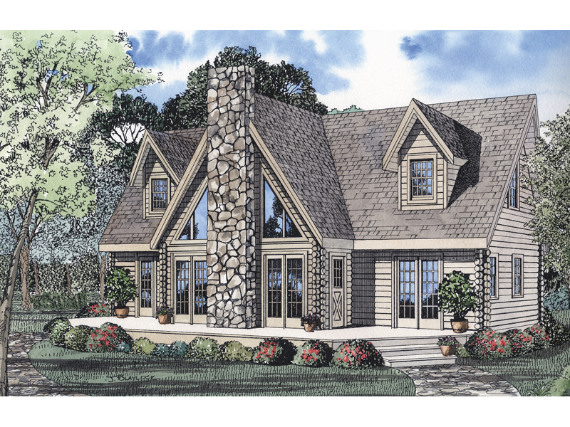 Contemporary House Plan Front Image - 073D-0007 | House Plans and More