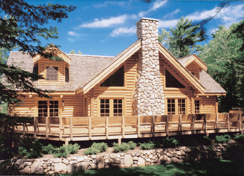 Logan Ridge Vacation Home Plan 073D 0007 House Plans And More