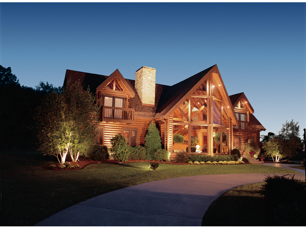 . Log Home Plans   House Plans and More
