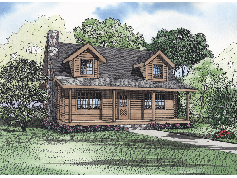 alaska rustic home plan 073d 0019 house plans and more On alaska log home plans