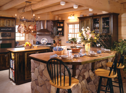 Perfect Homes With Country Kitchens