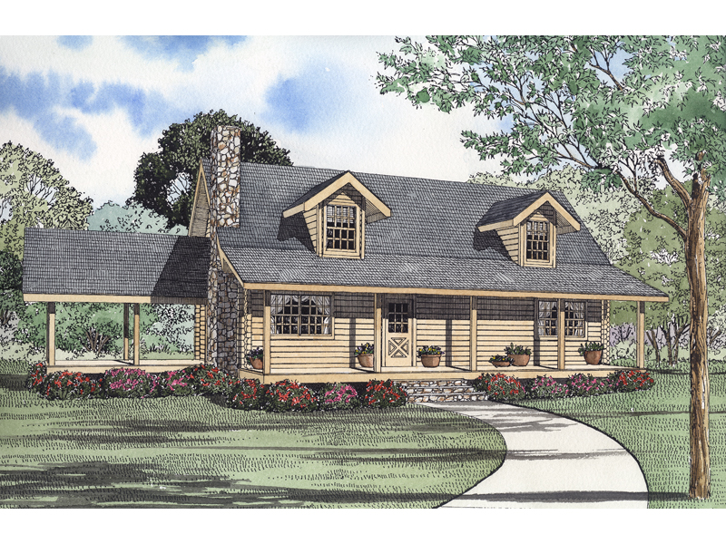 Heiden Country Log Home Plan 073d 0027 House Plans And More