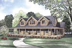Southern Home Design With Tranquil Style