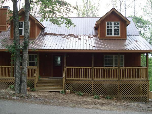 Shadow Ridge Log Cabin Home Plan 073d 0033 House Plans
