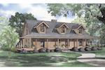 Home With True Wrap-Around Porch